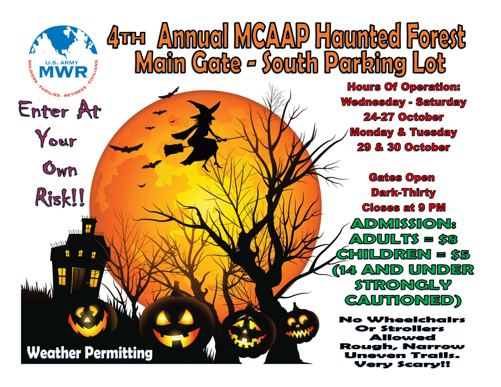 4th Annual Haunted Forest