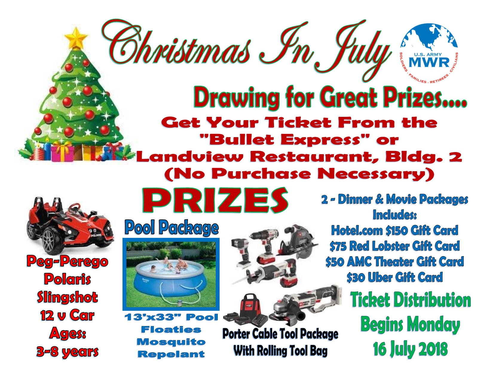 christmas in july 2018 prize drawingjpg - Red Lobster Open On Christmas